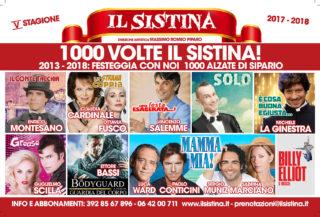 Sistina - stagione 2017-18